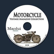 Motorcycle Vintage Magazine Collection 27 PDF E-Books on 1 DVD Bike,Motor,Engine