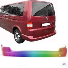 VW T5 Multivan Transporter Stoßstange hinten ohne PDC 2003-2012 LACKIERT