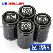 Valve Stem Caps Wheel Tire For Dodge Ram 4Pc 2 Color Option - Vc09 Vc14