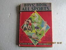 BOYS' BOOK OF ALL SPORTS-NEWS CHRONICLE-1951