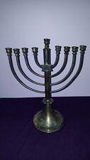Early Meriden Brittania Co Ct Synagogue Silver Plate Menorah Hanukkah Lamp 1861