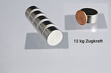 1 x Neodym Magnet 20x10 mm 12 kg extra starke Magnete Pinnwand Kühlschrankmagnet