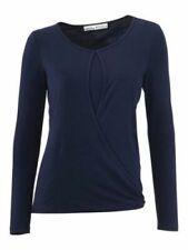 Ashley Brooke Sweatshirt Bluse Shirt Gr 34 Oil Wash mit Pailletten NEU 736