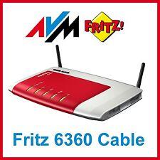 AVM FRITZBox 6360 Cable Router 300 Mbps 4-Port 1000 Mbps