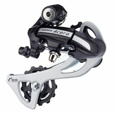 Shimano ACERA RD-M360 SGSL 7/8 Speed Rear Derailleur, 303g, Long, Black, Y75