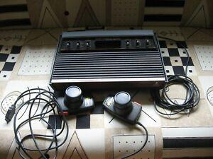 Atari 2600 Wood grain Console Video Game System