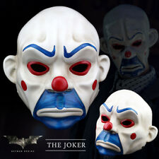 Batman Joker Clown Bank Robber Masks The Dark Knight Scale Mask Costumes Resin