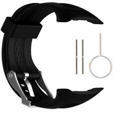 Silicone Band Replacement Watch Band Strap for Garmin Forerunner 10/15