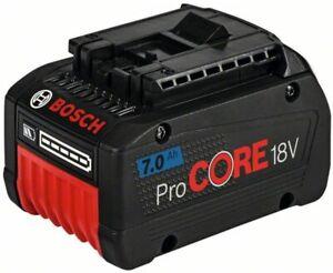 Bosch Professional 1600A013H1 GBA 7.0 Ah ProCORE Battery, 18 V