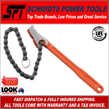 "BAHCO 370-4 CHAIN PIPE WRENCH 300mm 12"" CHAIN STRAP PIPE SPANNER - BRAND NEW"