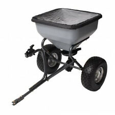 Precision Products 130 LB Tow Behind Broadcast Spreader With Rain Cover