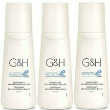 3 X G&H Protect+ Deodorant & Anti-Perspirant Roll-On size 100 ml.