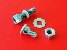 Brake Cable Adjuster Clamp •NOS Anchor Stop Lock Screw Vintage Mini Bike Moped