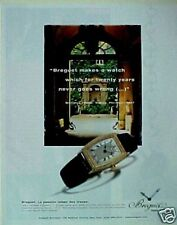 Breguet Lady's Heritage Women's Wristwatches~Watches Ad