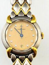 Chaumet Stainless Steel & Yellow Gold & Diamond Ladies Watch / SERIAL# 221959