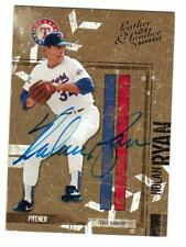 "2004  LEATHER & LUMBER  ""#146 - Nolan Ryan""   Autographed Card"