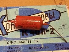 Capacitor PIO Russe 0.015mF 400V, NOS, comme vitamin Q
