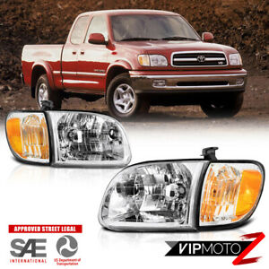 For Toyota Tundra 2000-2004 OE Style [4PC SET] Headlight Corner Lamps Right Left