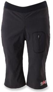 Harlot Clothing Cycling Knickers Women's Capri Pants Size S Black