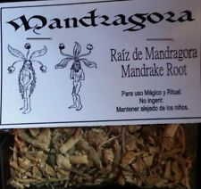 RAIZ DE MANDRAGORA  28 gr MANDRAKE ROOT WICCAN,RITUAL,SPELL SPECIAL ON SALE!