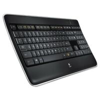 Logitech 920-002359 K800 Wireless Illuminated Keyboard- Unifying Receiver NEW