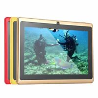 Q88 7 Inch Android 4.4 A33 Quad Core 8GB ROM 512MB RAM WiFi G-Sensor Tablet ON