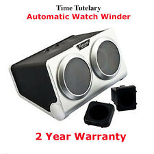 Dual Time Tutelary Automatic Winder For Two Kinetic Watches Self Winding KA002