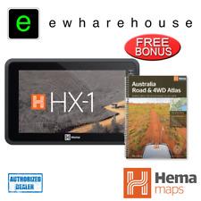 Hema HX-1 ON/OFFROAD 7-INCH GPS NAVIGATOR 4WD 4X4 + BONUS BRAND NEW 4WD ATLAS!
