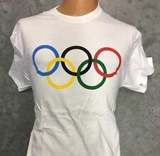 Classic Olympic Rings Tshirt - New Adult M