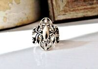 Carolyn Pollack CP Designer Relios Sterling Silver 925 Filigree Size 5 Ring
