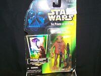 "Star Wars POTF 3.75"" Figure,  Momaw Nadon (Hammerhead), 1996 Hasbro Inc"