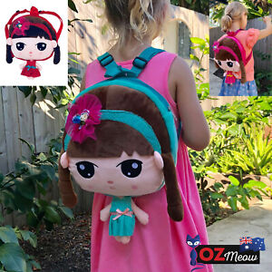 Cute Toddler Kids Backpack for Girls, 3D Cartoon Design for Pre School by Ozmeow