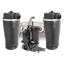 1998-2002 Lincoln Navigator RWD Rear Air Springs & Air Compressor w/ Bracket