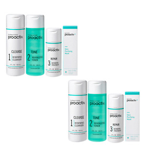 Proactiv 60 Day 3-Step Acne Treatment System with Purifying Mask 1oz (Pack of 2)