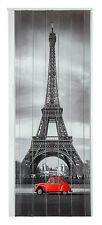 Falttür Schiebetür Tür mit Motiv Eiffelturm bunt farben H. 202 cm B. 83 cm Neu