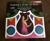 """Vintage 1968 Lucero Tena """"Baroque Music of Spain with castanets"""" LP - DECCA- NM"""