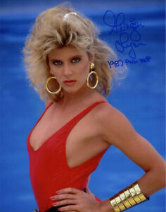 GINGER LYNN SIGNED 11x14 PHOTO + HOF XXX PORN MOVIE ACTRESS LEGEND BECKETT BAS