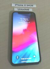 Apple iPhone X 64GB GSM Unlocked AT&T T-Mobile MetroPCS Smartphone *READ