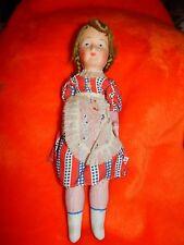 Vintage Antique Papier Paper Mache Doll European ? Italy ? German ? Unmarked