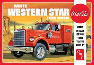 AMT 1:25 White Western Star Semi TractorCc, #R2AMT1160