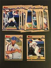 1996 Bowman New York Mets Team Set 14 Cards