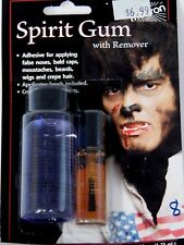 Spirit Gum With Remover Accessory Stage Theatrical Costume Halloween Mehron