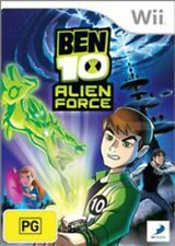 Ben 10 Alien Force Wii Game USED