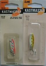 2 Pks. Acme Tackle KASTMASTER Fishing Lures - 1/8 Ounce  - Two Popular Colors