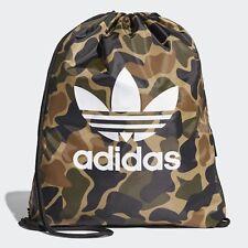 8b77cf60c8b6 adidas Originals Drawstring Camouflage Multicolor Gym Sack Sport Bag  NEW