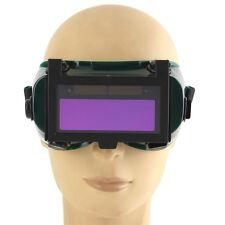 Solar Auto Darkening Arc &TIG MIG Welding Mask Helmet Welder Goggles Black