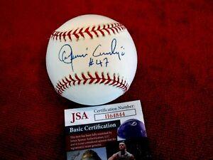 JOAQUIN ANDUJAR #47 Signed Major League Baseball -JSA Authenticated