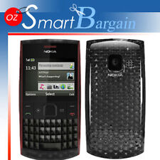 NEW Black Soft Gel TPU Cover Case For Nokia X2-01