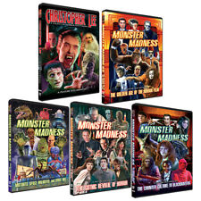 Monster Madness DVD SET- Universal-Hammer-Corman to Famous Monsters of Filmland!