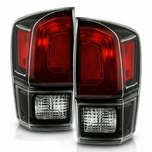 FITS TOYOTA TACOMA 2016-2021 TRD PRO TAILLIGHTS TAIL LIGHTS REAR LAMPS PAIR